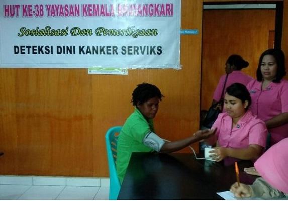 Pencegahan Kanker Serviks Bersama Bhayangkari Puncak Jaya ...